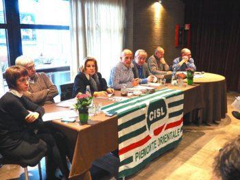Il Consiglio generale della Cisl Piemonte Orientale del 3 febbraio a Fontaneto D'Agogna, Novara