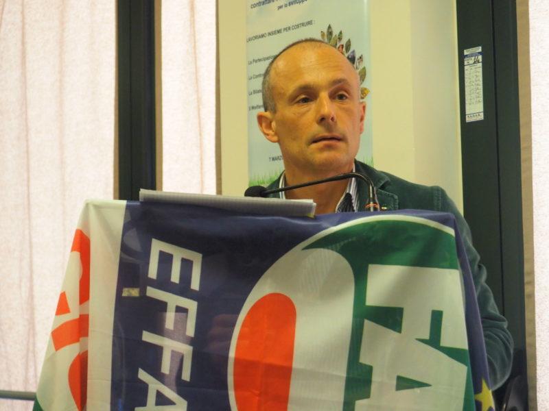 Il segretario Cisl P.O. Luca Caretti primo piano
