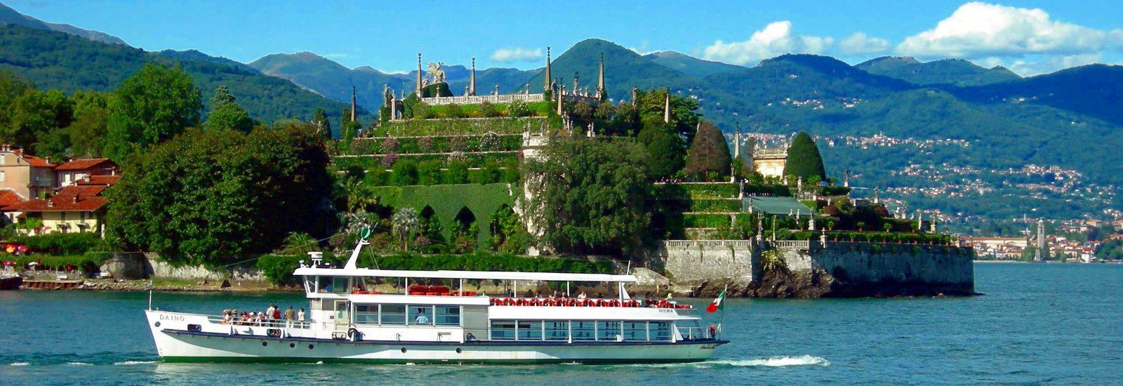 Navigazione Lago Maggiore primo piano