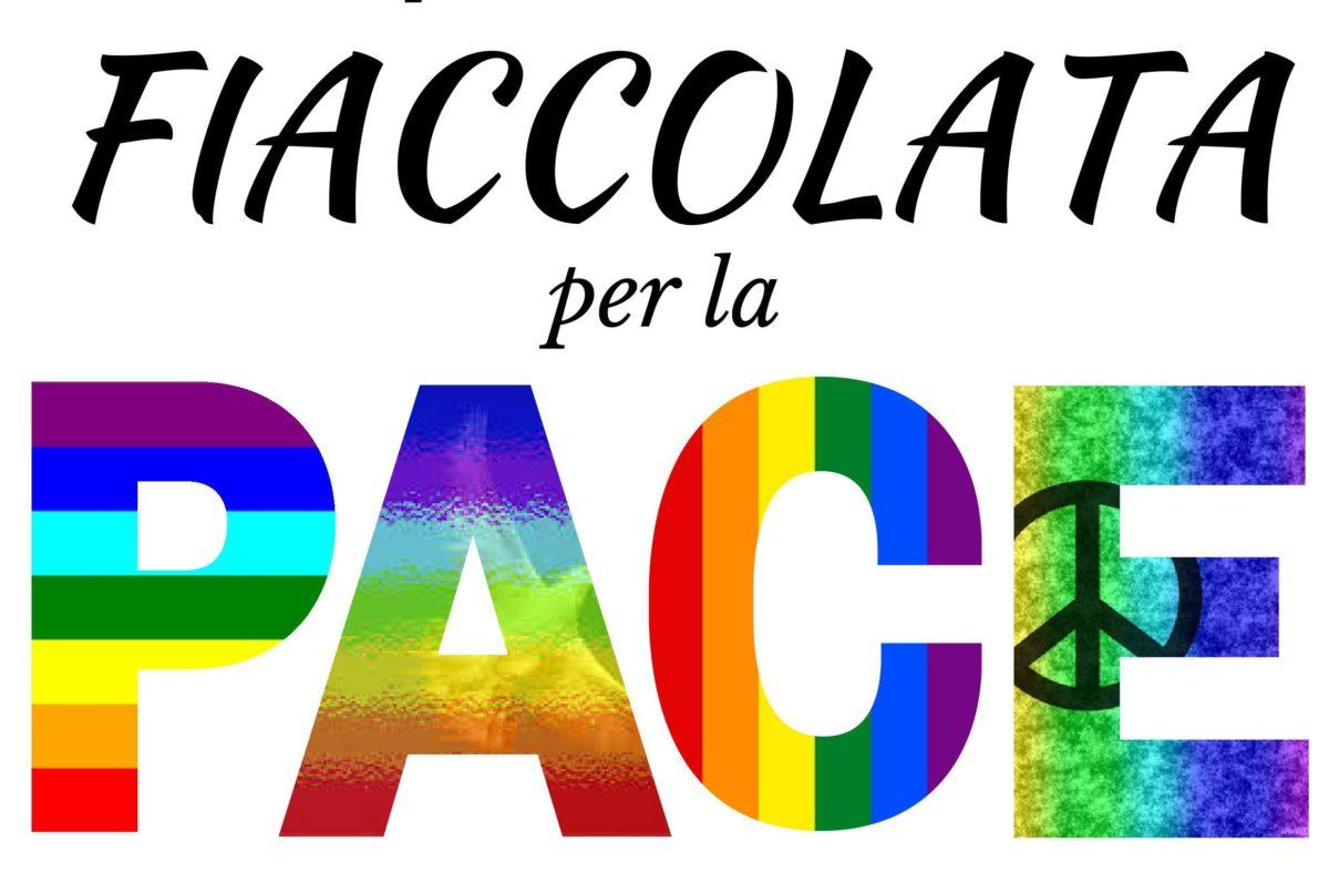 Fiaccolata della Pace a Vercelli
