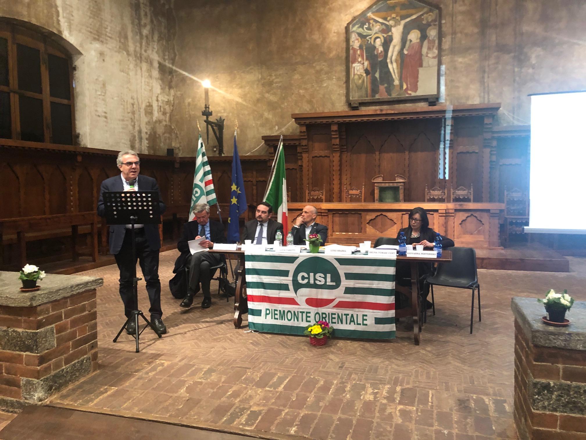 Convegno Cisl su lavoro a Novara