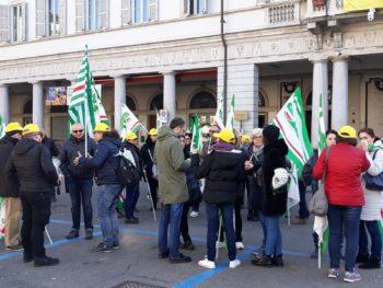 Dussmann: sciopero con presidi Fisascat Cisl a Vercelli e Novara