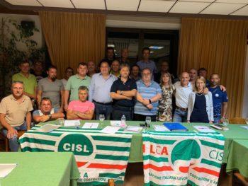 Eletta nuova segreteria Filca Cisl Piemonte Orientale