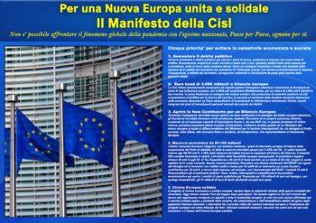 Il Manifesto della Cisl per una Nuova Europa unita e solidale