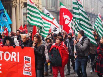 Manifestazione unitaria di Cgil Cisl Uil il 9 febbraio per scuotere il Governo