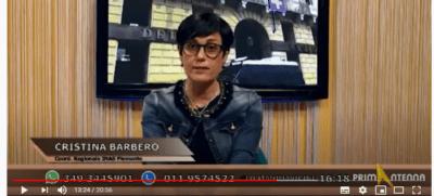 """Reddito di Emergenza e altro: Cristina Barbero di Inas Piemonte a """"Cosa Succede"""" di Primantenna Tv"""