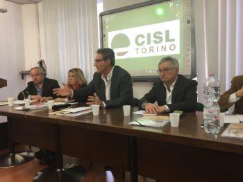 Il focus sui servizi territoriali della Cisl Torino-Canavese con Lo Bianco, Ferraris, Ventura, Cerrito e Vizio