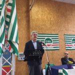 L'intervento del segretario generale Femca Colombini primo piano
