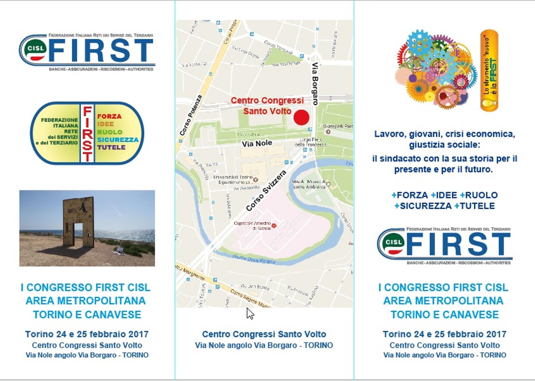 I Congresso First Cisl Area Metropolitana Torino Canavese