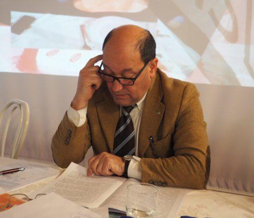 Il segretario generale Filca Piemonte, Piero Donnola, primo piano