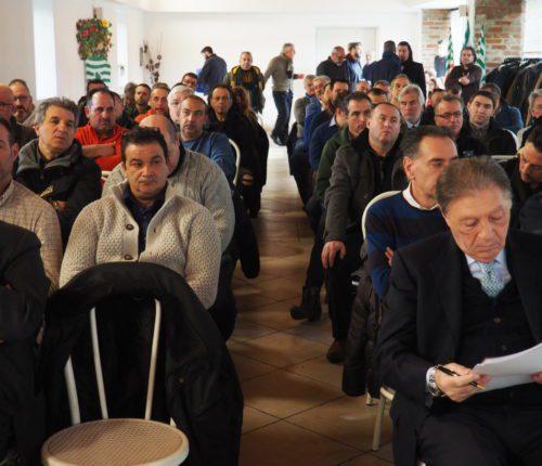 Il pubblico in sala primo piano