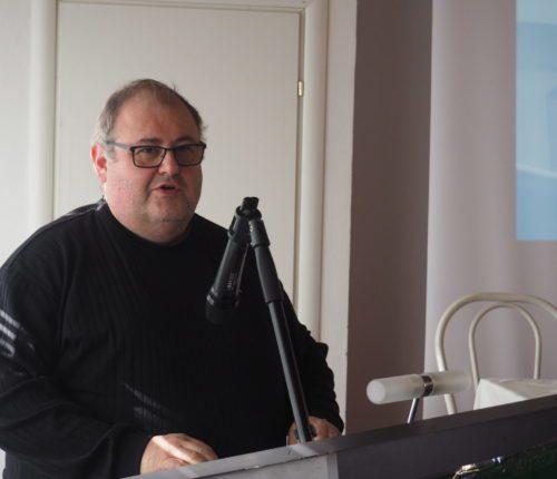 Il segretario generale Filca, Franco Turri, primo piano