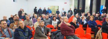 Il pubblico al convegno di Settimo torinese primo piano