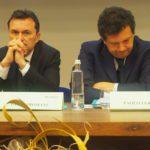 Giulio Romani e Paolo Ferrero primo piano