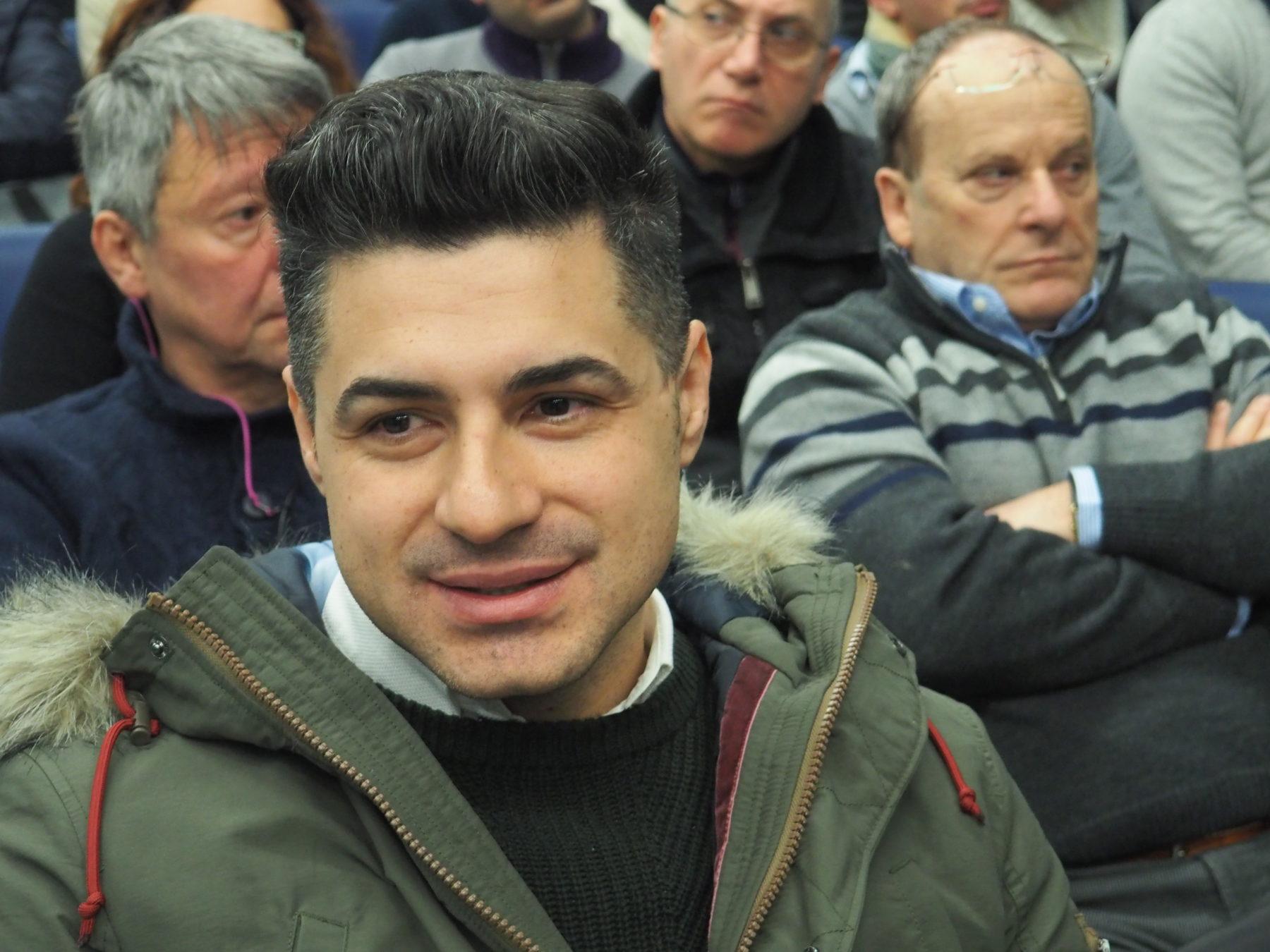 Davide Provenzano, operatore Fim Torino-Canavese primo piano