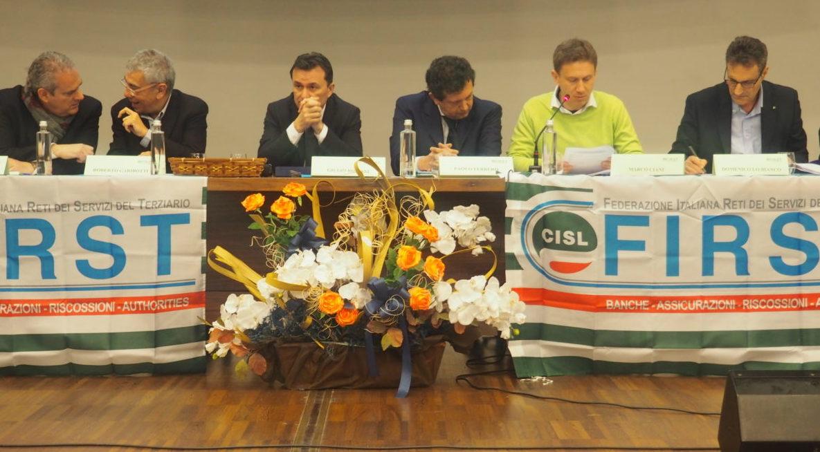 Il primo congresso First Torino-Canavese primo piano