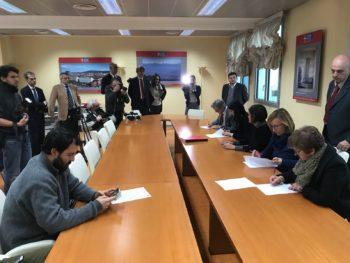 Cassa integrazione: accordo per l'anticipo anni 2018-2019 tra UniCredit, Città metropolitana e Cgil Cisl Uil Torino