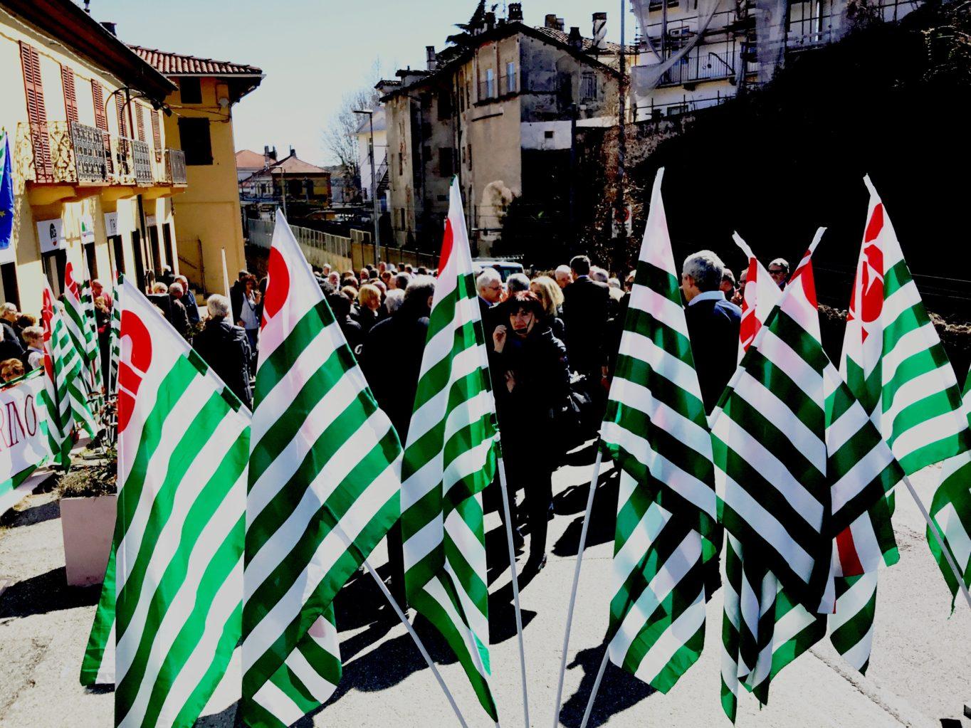Foto in ricordo di Leone Spiccia, storico attivista della Fim Cisl alla Fiat Mirafiori