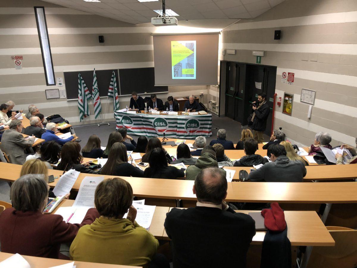 Dibattito sul futuro di Torino vista aula cislpiemonte.it