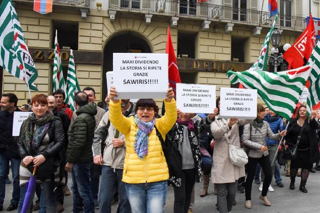 ItaliaONline Lavoratori in piazza
