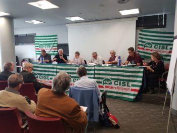 Il dopo-elezioni: al Consiglio Generale Fnp Torino Canavese la parola agli ultimi 4 segretari Cisl