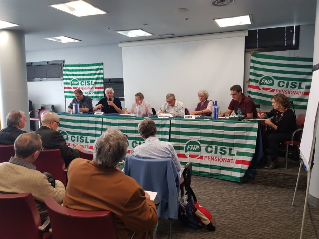Consiglio generale Fnp Torino Canavese