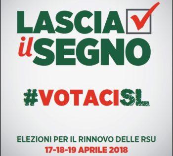 Rsu 17-18-19 aprile 2018: la Cisl Torino-Canavese invita a votare e a sostenere  le liste e i candidati di Cisl Scuola e Cisl Fp