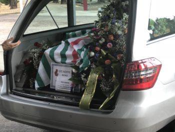 L'ultimo saluto degli amici Cisl a Beppe Boni