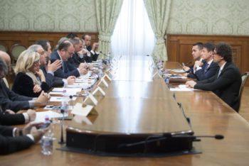 Tav: Gerri Castelli (Filca territoriale) all'incontro con il governo a Palazzo Chigi