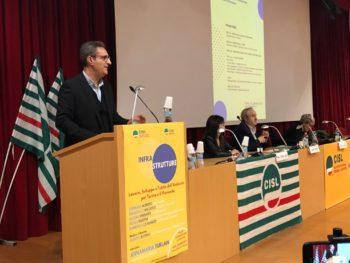 Convegno Infrastrutture Cisl: relazione introduttiva del segretario Domenico Lo Bianco