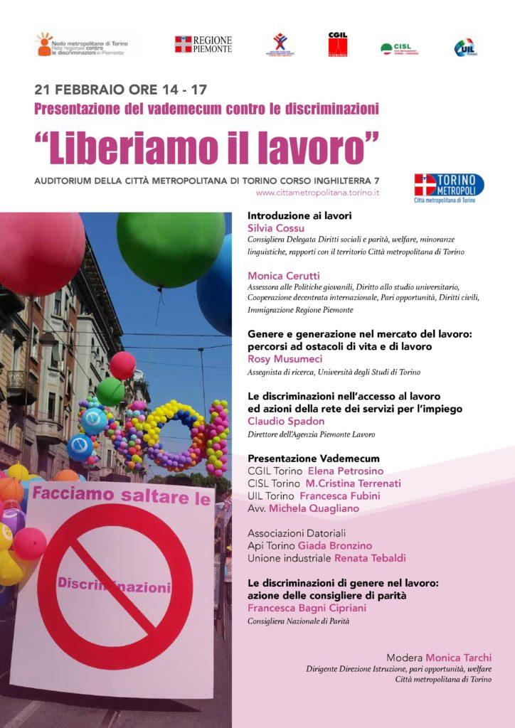 Locandina Programma presentazione Vademecum lavoro 21febbraio2019