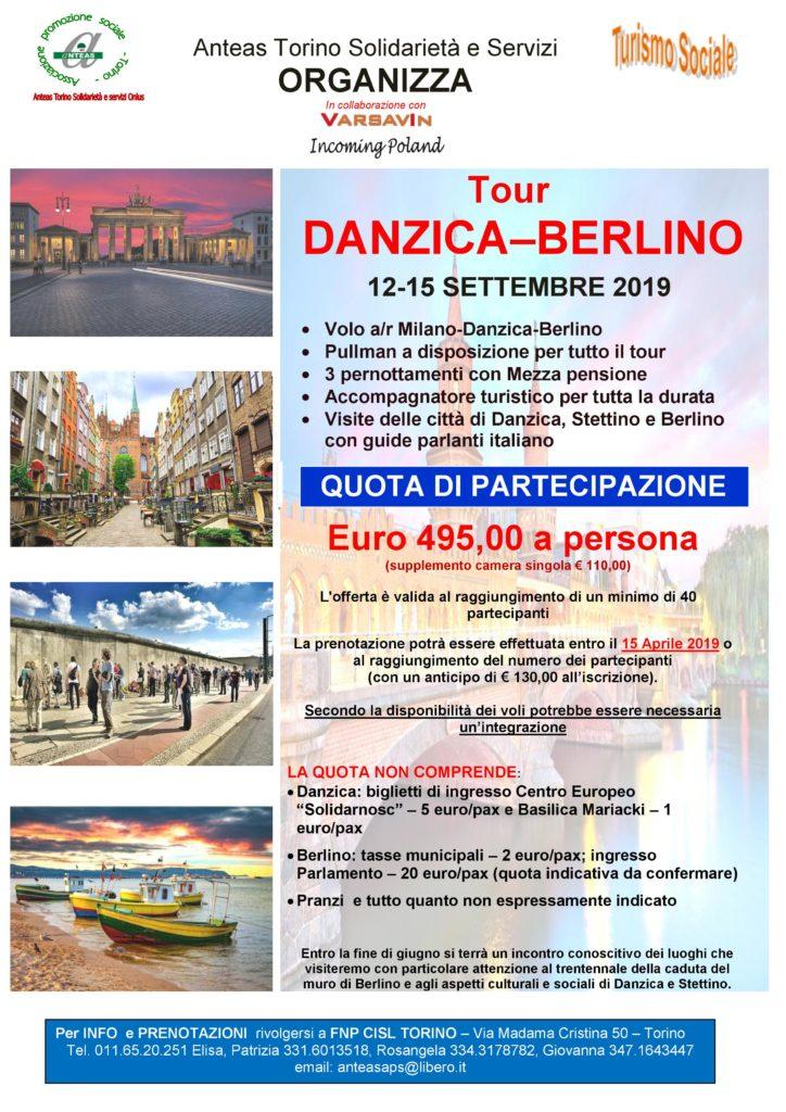 Tour Danzica Berlino - locandina