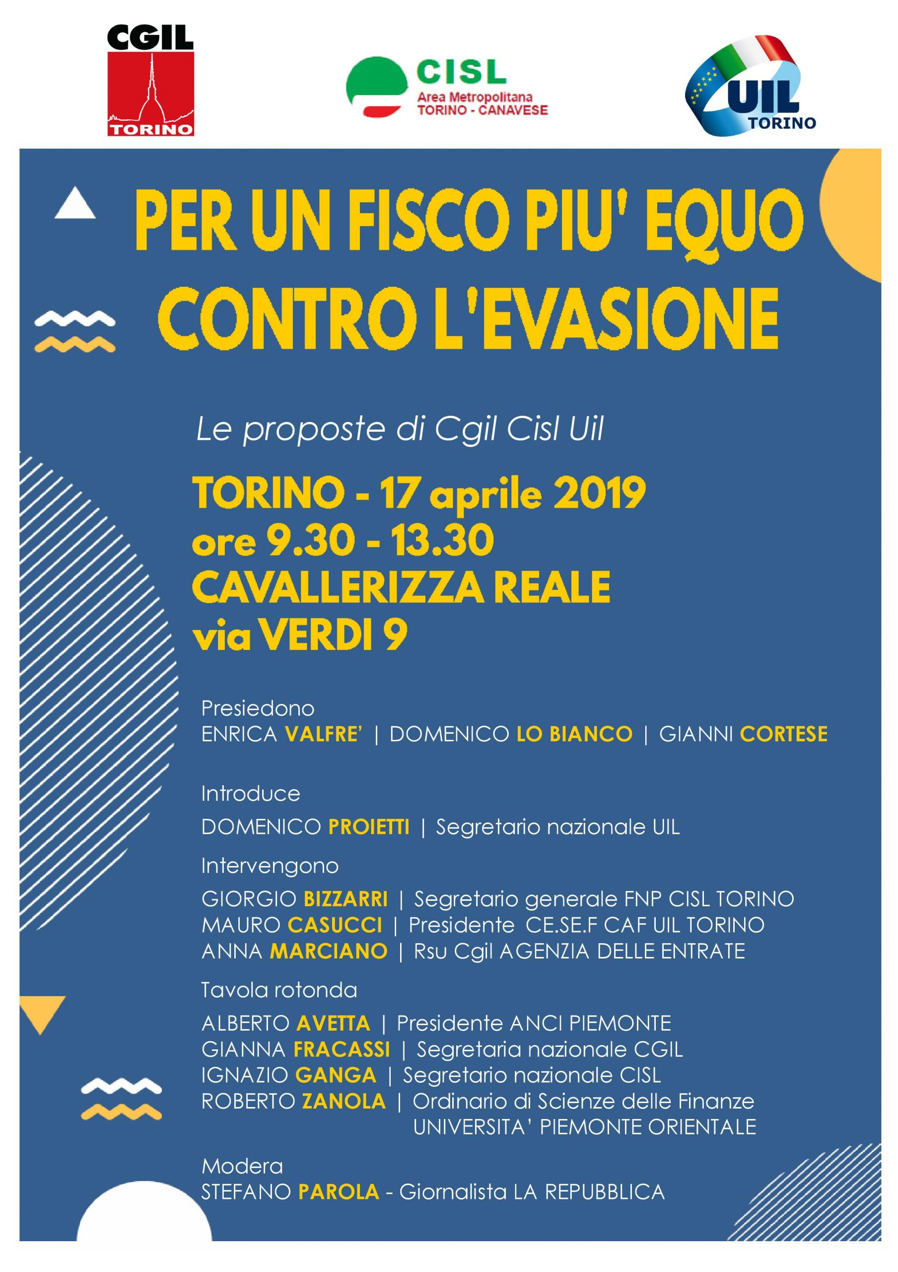 Convegno Fisco Torino