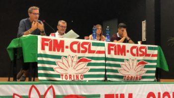 Consiglio generale della Fim Torino-Canavese: l'intervento del segretario Cisl Lo Bianco