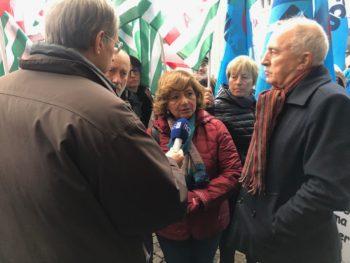 Scuola: il presidio dei sindacati torinesi nel servizio del Tg3 Piemonte
