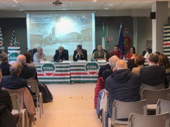 Il Consiglio generale Cisl Torino-Canavese con la leader Cisl Annamaria Furlan