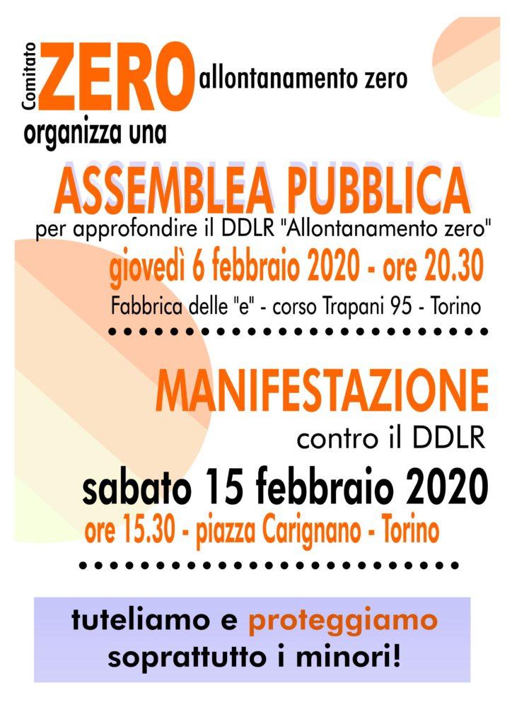 Comitato Zero - volantino manifestazione