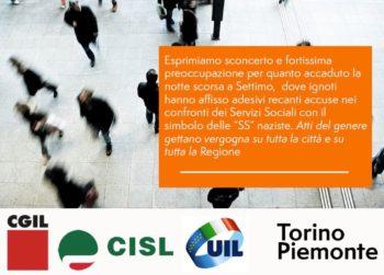 """Cgil Cisl Uil Torino e Piemonte: """"Fermare la campagna denigratoria e di odio e non usare i bambini strumentalmente"""""""