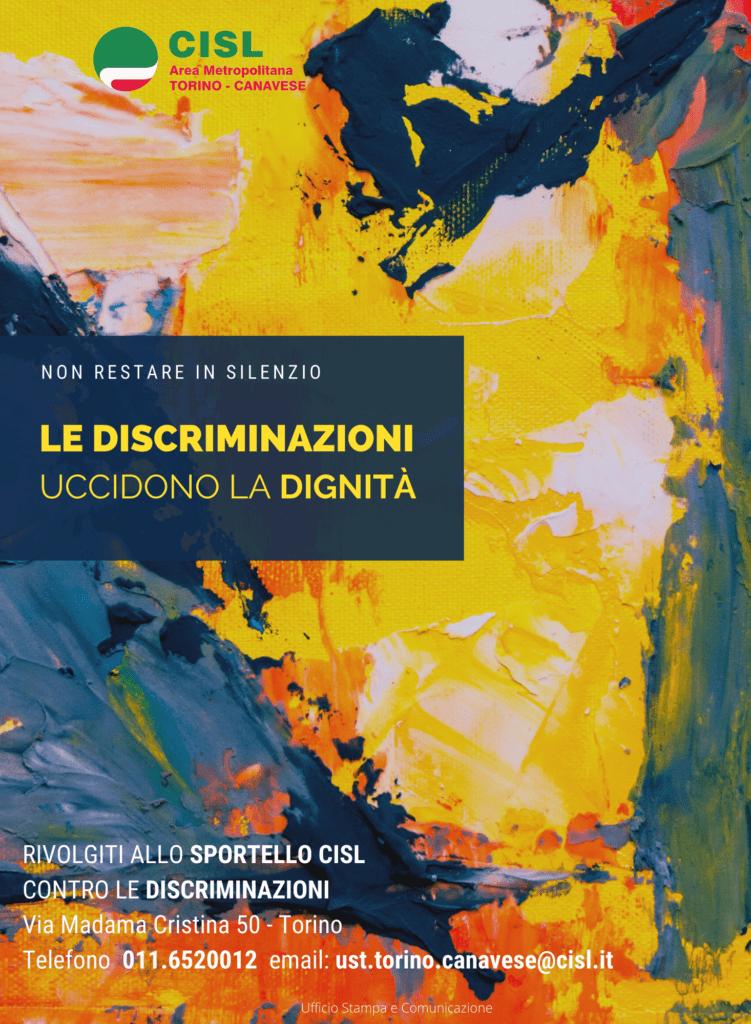 SPORTELLO CONTRO LE DISCRIMINAZIONI - Locandina