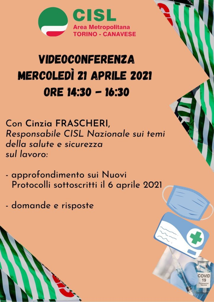 Locandina RLS - 21.04.2021 videoconferenza