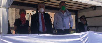 Nel servizio del Tgr Piemonte la manifestazione Cgil Cisl Uil Torino per la sicurezza nei posti di lavoro