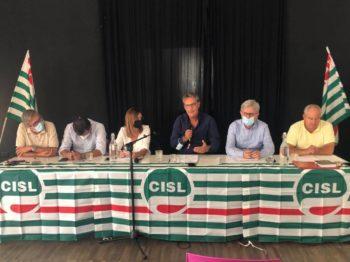Comitato Esecutivo Cisl con Lo Bianco, Ferraris e Colombini