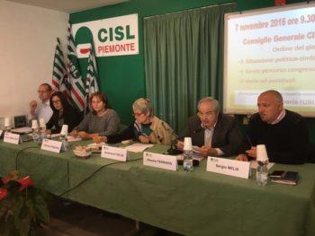 """Furlan a Torino: """"Dopo l'accordo sulla previdenza si apra un tavolo per la riforma del fisco"""""""