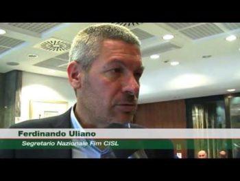 FCA, Uliano (Fim): ai lavoratori 307 euro mensili e 1.230 euro di premio annuo, più investimenti e lavoro