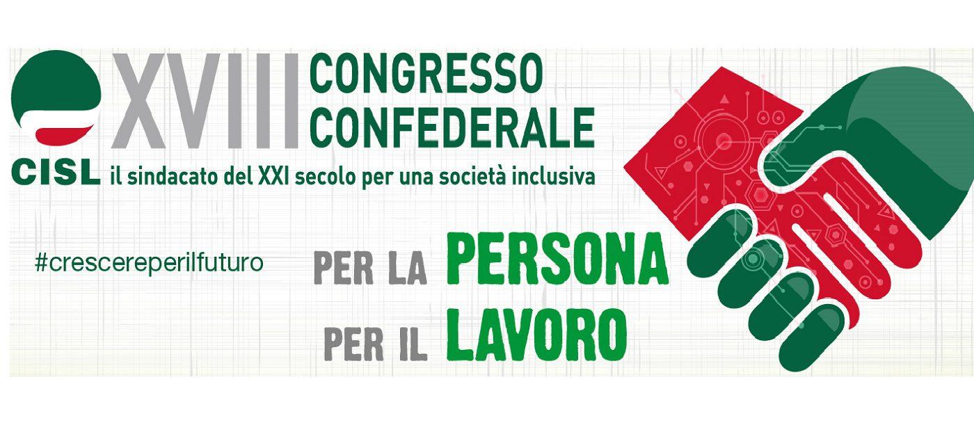 Congresso Cisl manifesto primo piano