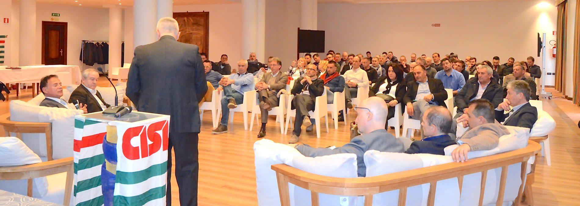 Congresso Fns regionale a Biella primo piano