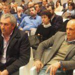 Tra il pubblico i segretari Cisl Caretti, Pennisi e Ugazio primo piano