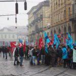 Manifestazione telecomunicazioni 4 via cernaia