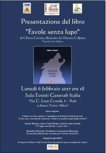Presentazione del libro favole senza lupo