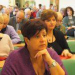 I dirigenti in Sala ascoltano la relazione del segretario Ferraris con Penna in primo piano